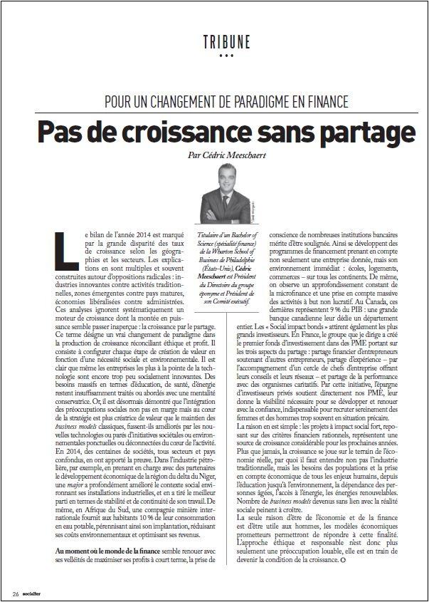 SOCIALTER_Tribune Cédric Meeschaert