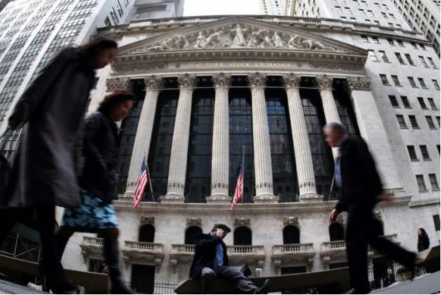 La Bourse de New York s'est lancée dans une course aux records depuis l'élection de Donald Trump ( AFP/Archives / JEWEL SAMAD )
